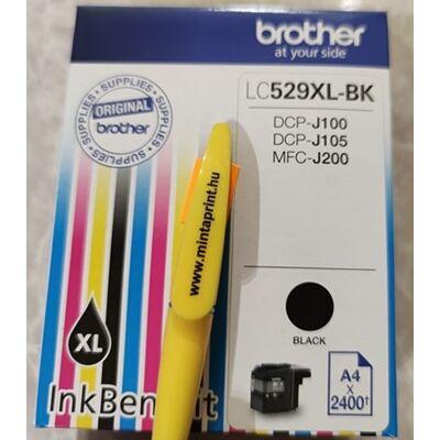 BROTHER LC-529XL BK EREDETI PATRON