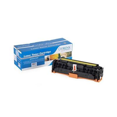 HP CC532/CE412/CF382/CRG718 ORINK YELLOW TONER