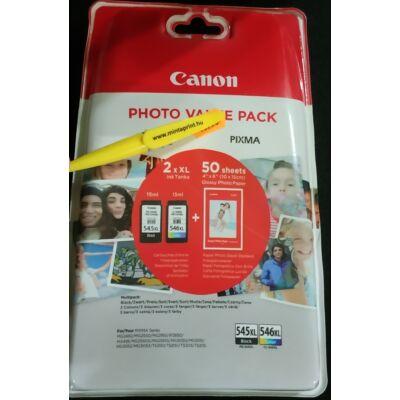 CANON PG-545XL+CL-546XL+FOTÓPAPÍR EREDETI MULTIPACK