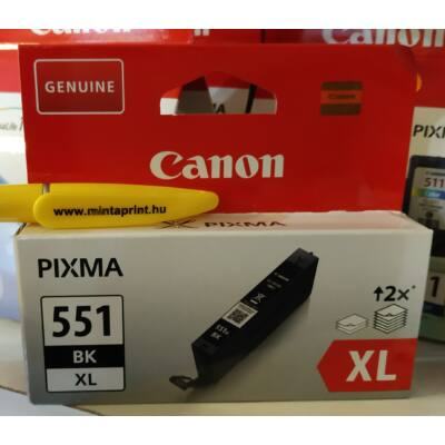CANON CLI-551XL BK EREDETI PATRON