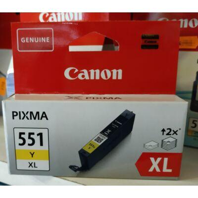 CANON CLI-551XL YE EREDETI PATRON
