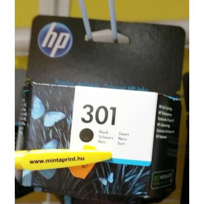 HP 301BK/CH561 EREDETI PATRON