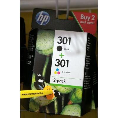 HP 301 CH561/CH562 / N9J72 EREDETI MULTIPACK