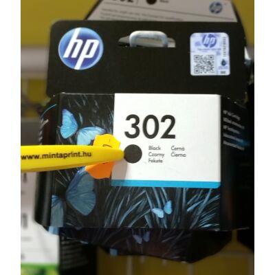 HP 302BK/F6U66 EREDETI PATRON