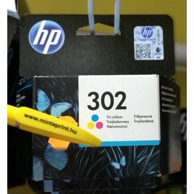 HP 302COL/F6U65 EREDETI PATRON