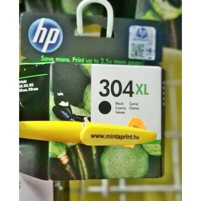HP 304XL BK EREDETI PATRON N9K08