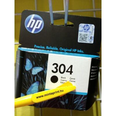 HP 304 BK EREDETI PATRON N9K06