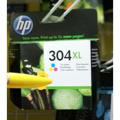 HP 304XL/N9K07 COLOR EREDETI PATRON