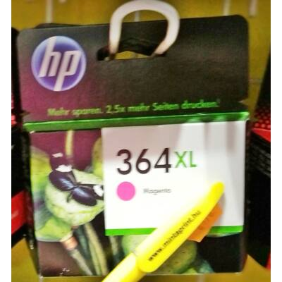 HP 364XL/CB324 MAGENTA EREDETI PATRON