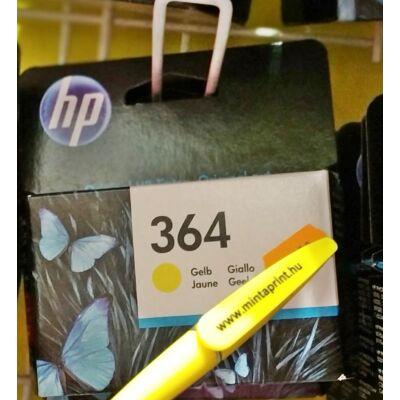 HP 364/CB320 YELLOW EREDETI PATRON