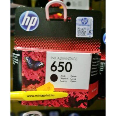 HP 650/CZ101 BK EREDETI PATRON
