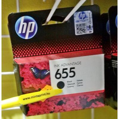HP 655/CZ109 BK EREDETI PATRON