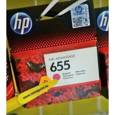 HP 655/CZ111 MAGENTA EREDETI PATRON