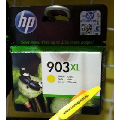 HP 903XL YELLOW EREDETI PATRON