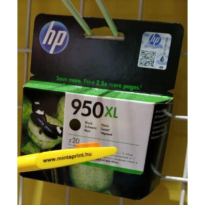 HP 950XL/CN045A BK EREDETI PATRON