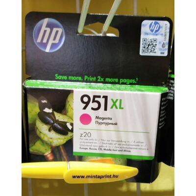 HP 951XL/CN047A MAGENTA EREDETI PATRON