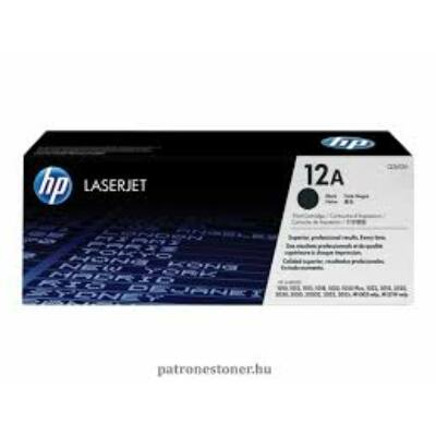HP Q2612A EREDETI TONER