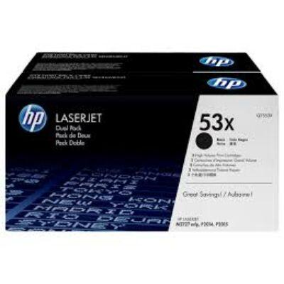 HP Q7553XD EREDETI TONER