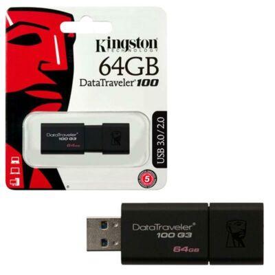 PENDRIVE KINGSTON 64GB USB3.0 DT100G3