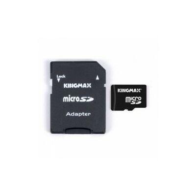 MicroSDHC Kingmax 8GB  Class 10 + adapterrel